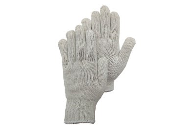 Cotton/polyester gloves