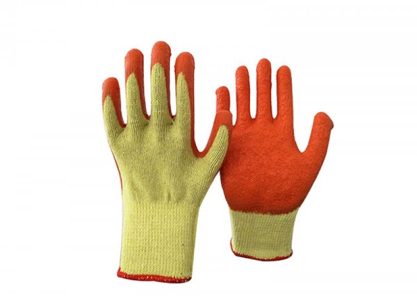 10gauge latex coated glove