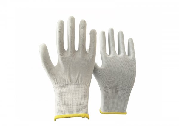 13 gauge polyester knitted glove