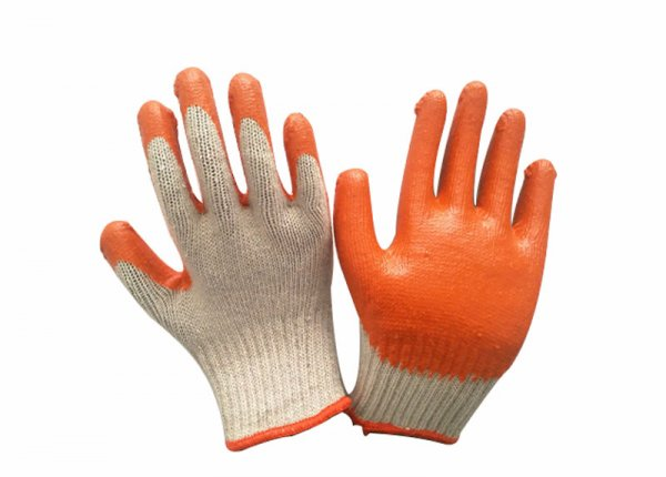 7/10 gauge smooth latex coated glove