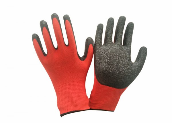 13gauge latex coated glove