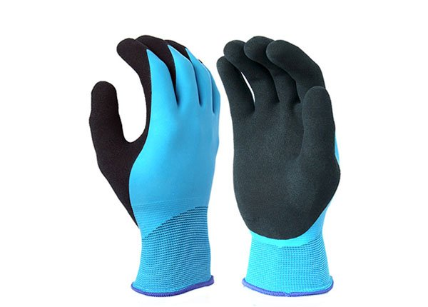 15 GAUGE DOUBLE LAYER WATER PROOF LATEX COATED GLOVE