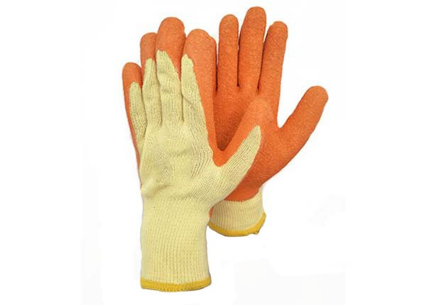 21gauge latex coated gloves