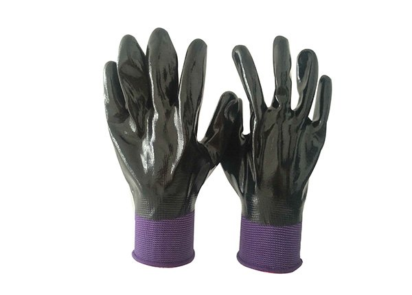 13gauge fully nitrile dipped gloves