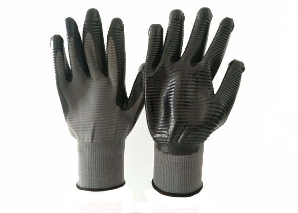 13gauge color  shell nitrile coated gloves